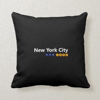 New York City, New York Pillow
