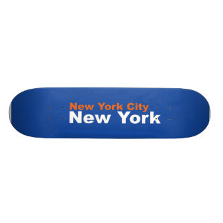 New York City, New York Skateboard