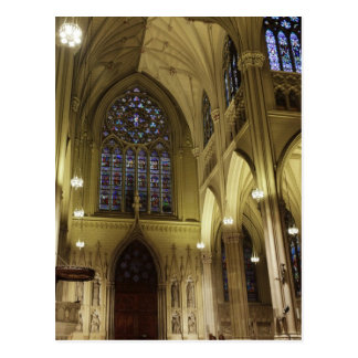 New York City, New York, USA. Saint Patricks 2 Postcard