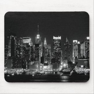 New York City Night Mouse Pad