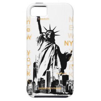 New York City Ny Nyc Statue of Liberty iPhone 5 Cover