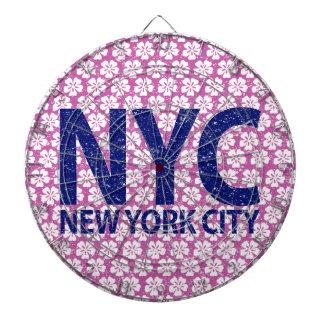 New york city NYC Dartboard