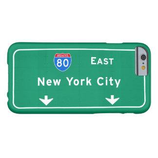 New York City NYC Interstate I-80 East Highway Barely There iPhone 6 Case