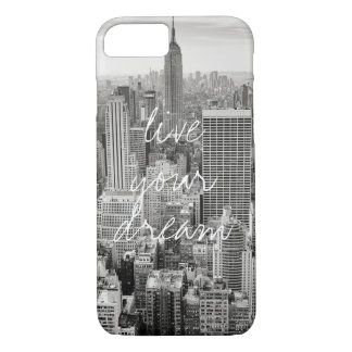 New York City NYC live your dream travel iPhone 7 Case