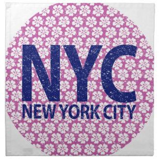 New york city NYC Napkin