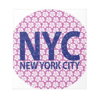 New york city NYC Notepad