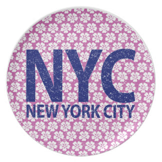 New york city NYC Plate
