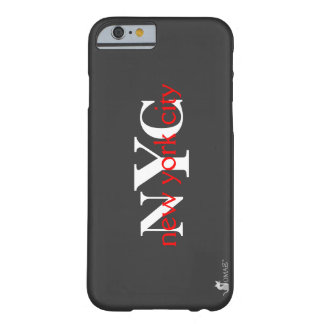 New York City NYC Red Logo Barely There iPhone 6 Case