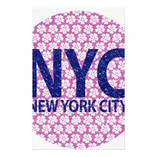 New york city NYC Stationery