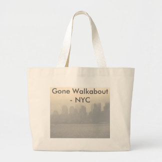 New York City NYC Walkabout CricketDiane Large Tote Bag