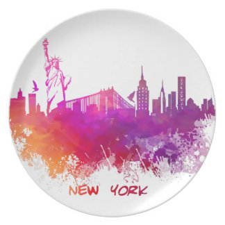 New York City Plate
