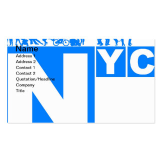 New York City Poster Business Cards