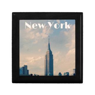 "New York City Print "" I love New York"" Gift Box"