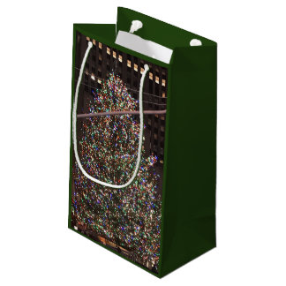 New York City Rockefeller Centre Christmas Tree Small Gift Bag