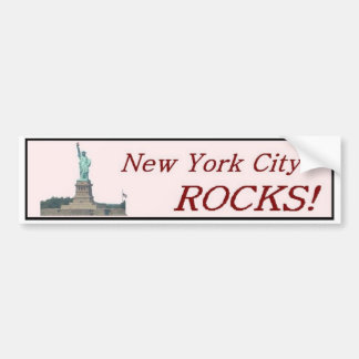 New York City Rocks! Bumper Sticker