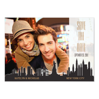 New York City Save the Date Card