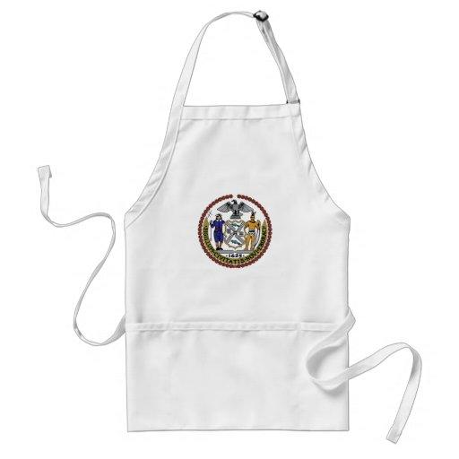 New York City Seal Apron