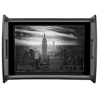 NEW YORK CITY serving trays