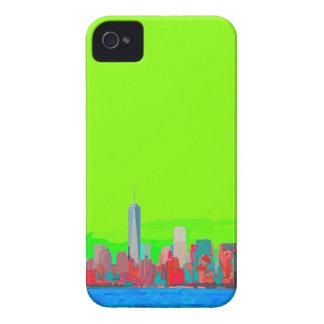 New York City Sky Line iPhone 4 Covers