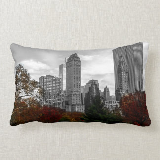 New York City Skyline 2 Sided Lumbar Cushion