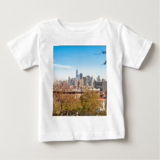 New York City Skyline Baby T-Shirt
