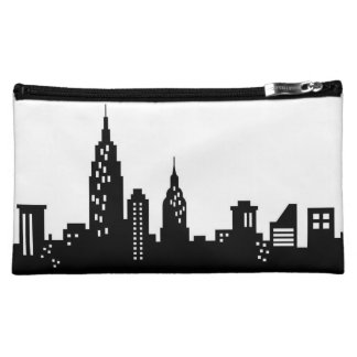 New York City Skyline Black and White Bag