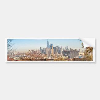 New York City Skyline Bumper Sticker