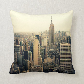New York City Skyline Cushion