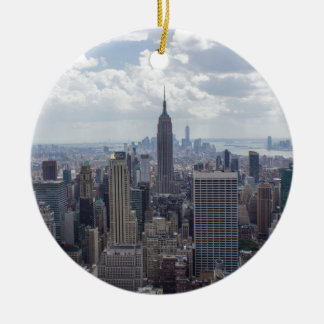 New York City Skyline Empire State Building NYC Ceramic Ornament
