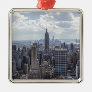 New York City Skyline Empire State Building NYC Metal Ornament