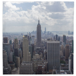 New York City Skyline Empire State Building NYC Napkin