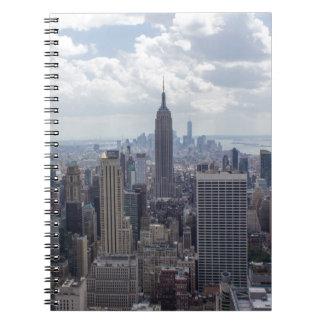 New York City Skyline Empire State Building NYC Notebooks