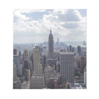 New York City Skyline Empire State Building NYC Notepad