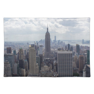New York City Skyline Empire State Building NYC Placemat