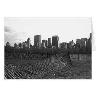 New York City Skyline from Central Park Card