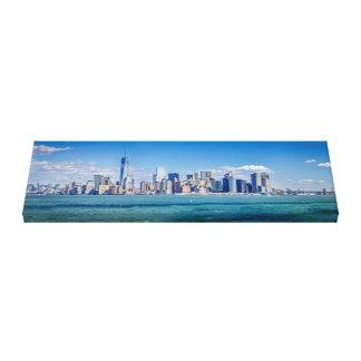 New York City Skyline Gallery Wrapped Canvas