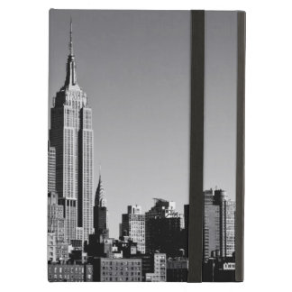 New York City Skyline in Black and White Case For iPad Air