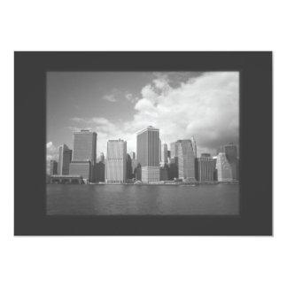 New York City Skyline Invitation - Classic