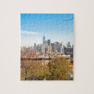 New York City Skyline Jigsaw Puzzle