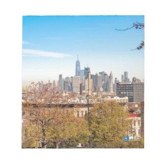 New York City Skyline Notepad