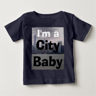 New York City Skyline NYC City Baby Toddler Shirts