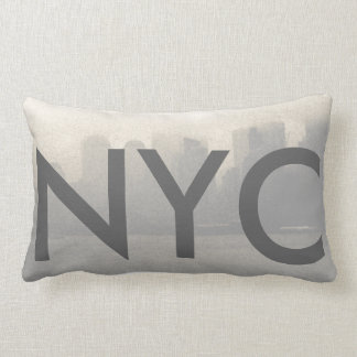 New York City Skyline NYC CricketDiane Travel Lumbar Cushion