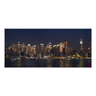 New York City Skyline Panorama Photographic Print