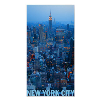 new york city skyline posters. Black Bedroom Furniture Sets. Home Design Ideas