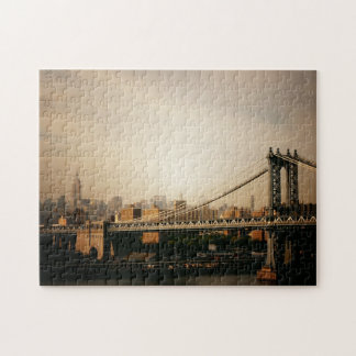 New York City Skyline Puzzle - Manhattan Bridge