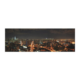 New York City Skyline Stretched Canvas Prints