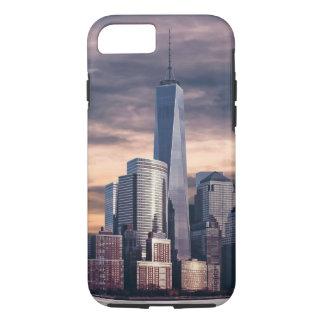 New York City Skyline Winter iPhone 7 Case