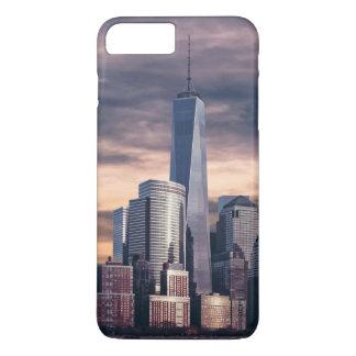 New York City Skyline Winter iPhone 7 Plus Case