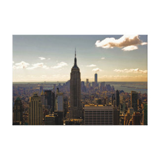 New York City Skyline with Empire State Building Gallery Wrapped Canvas