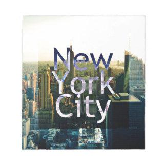 New York City Souvenir Notepad